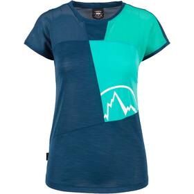 La Sportiva Push T-shirt Dame opal/aqua